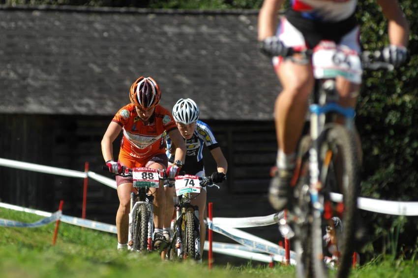 Nissan UCI světový pohár MTB #8 - Schladming 2009: Lucie Veselá