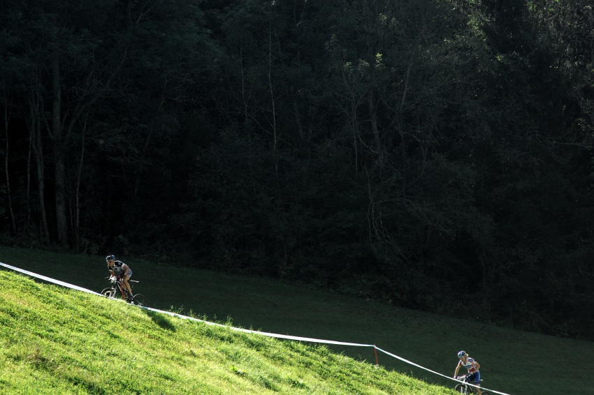 Nissan UCI sv�tov� poh�r MTB #8 - Schladming 2009: atak Norky Lene Byberg na druh� m�sto