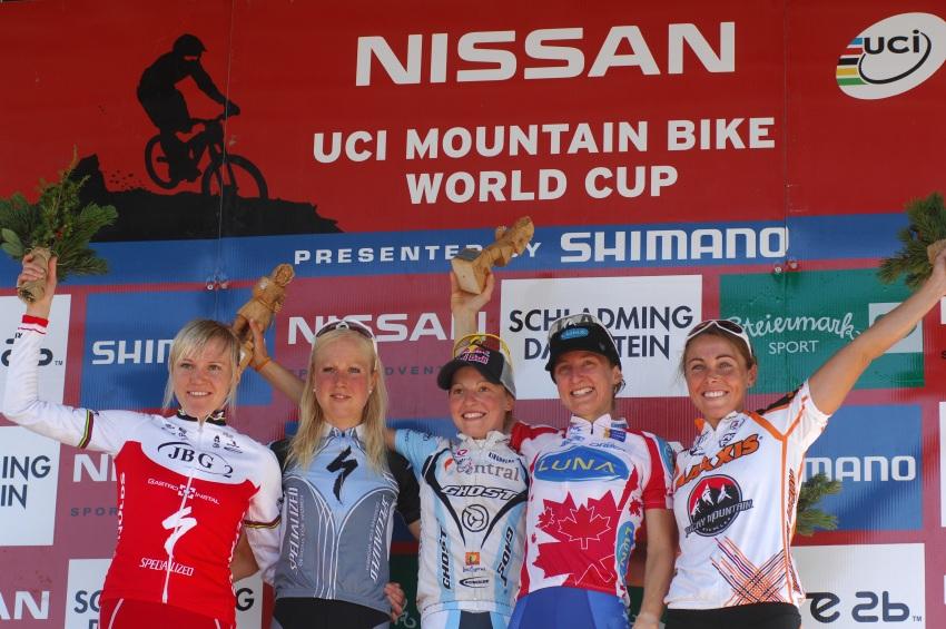 Nissan UCI světový pohár MTB #8 - Schladming 2009: 1. Osl, 2. Byberg, 3. Pendrel, 4. Szafraniec, 5. Premont