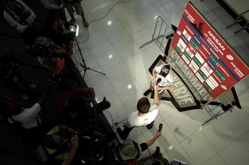 Nissan UCI světový pohár MTB #8 - Schladming 2009: tisková konference