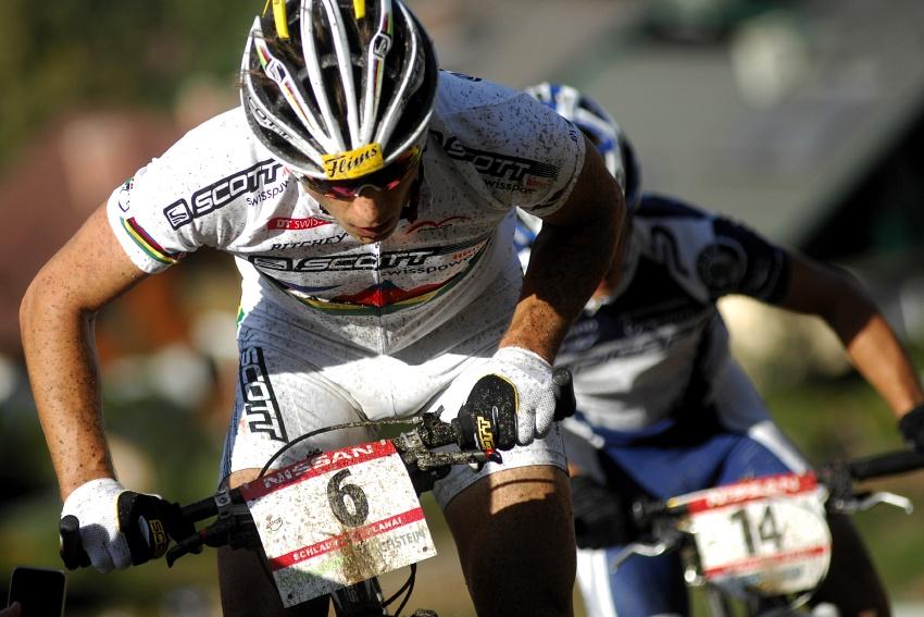 Nissan UCI sv�tov� poh�r MTB #8 - Schladming 2009: Nino Schurter
