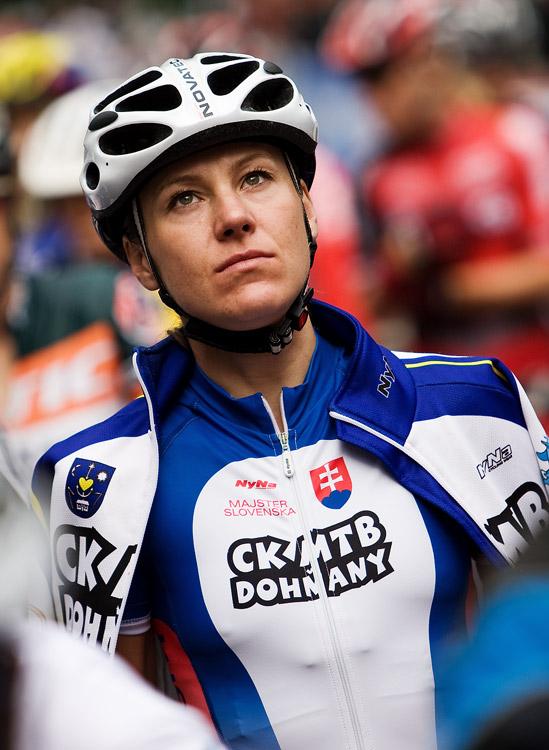 SP XCO Champ�ry 2009 �eny - slovensk� hv�zda Janka �tevkov�