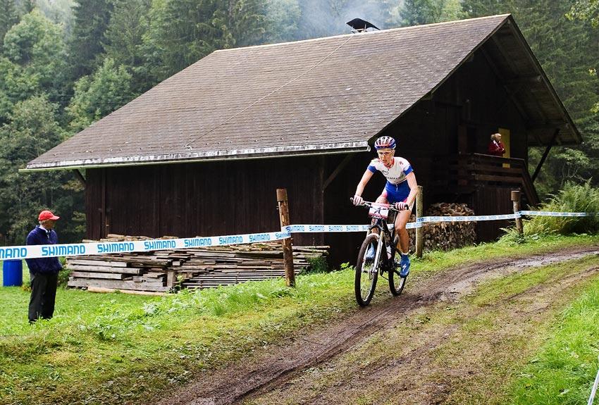 SP XCO Champéry 2009 ženy - Lene Byberg