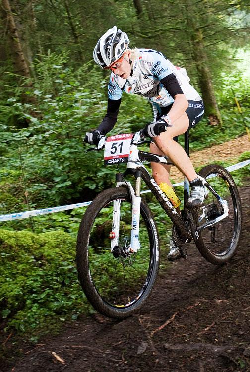 SP XCO Champéry 2009 ženy - Anja Gradl
