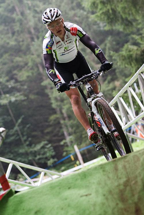SP XCO Champéry 2009 - páteční tréninky - Jirka Friedl