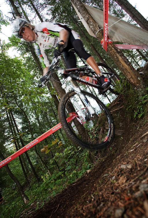 SP XCO Champéry 2009 - páteční tréninky - Ondra Cink
