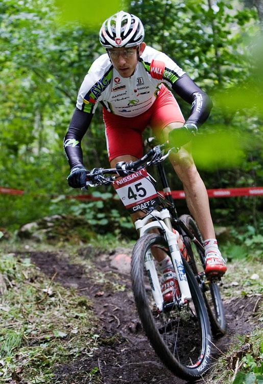 SP XCO Champéry 2009 - páteční tréninky - Christoph Soukup
