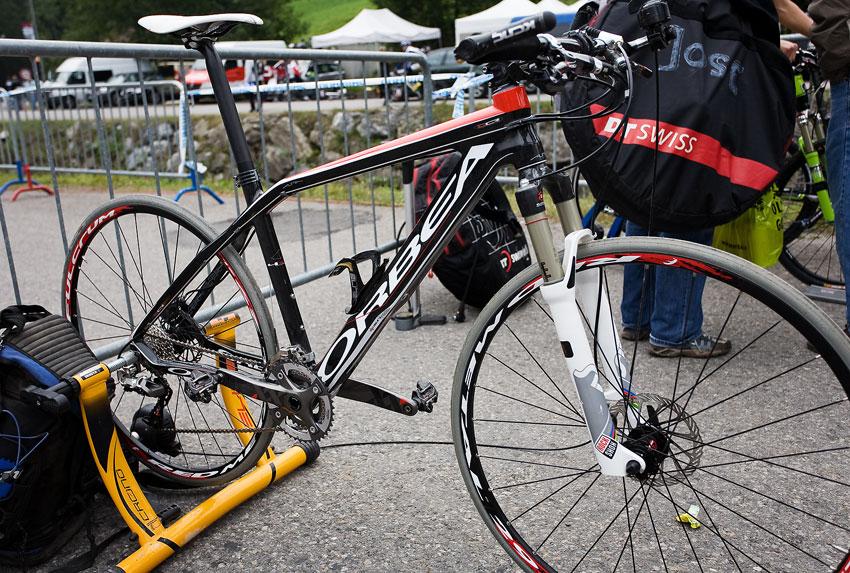 SP XCO Champéry 2009 - tréninkový stroj Juliena Absalona