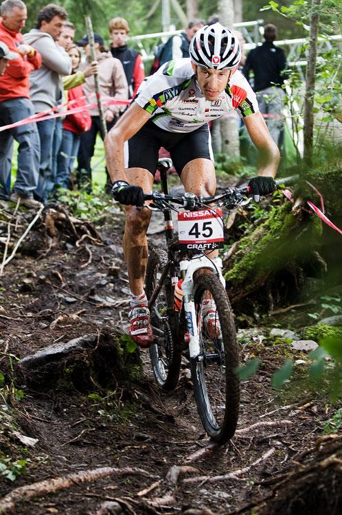 SP XCO Champéry 2009 - Christoph Soukup bez zaváhání