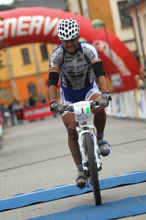 Mistrovství ČR v MTB maratonu - Specialized Rallye Sudety '09: Ivan Rybařík třetí