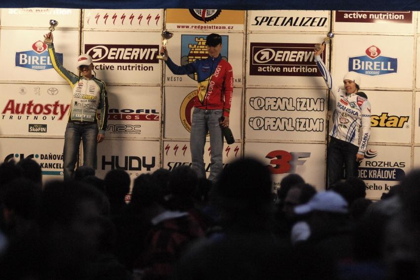 Mistrovství ČR v MTB maratonu - Specialized Rallye Sudety '09: konečné pořadí ČP XCM 1. Radová, 2. Krnáčová, 3. Čuříková