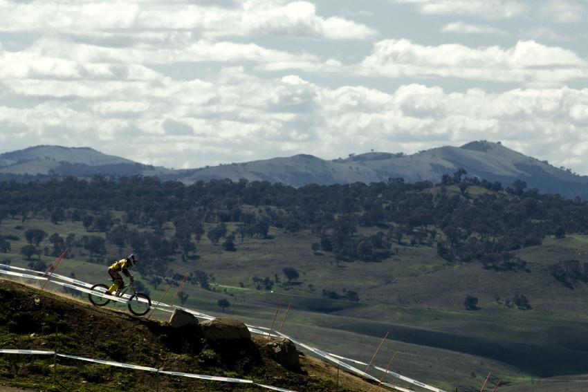 Mistrovstv� sv�ta MTB DH 2009, Canberra -