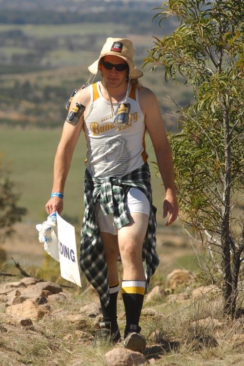 Mistrovství světa MTB DH 2009, Canberra - fanoušci
