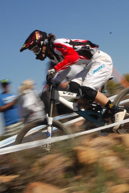 Mistrovství světa MTB DH 2009, Canberra - Anita Molcik