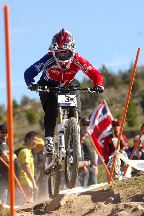 Mistrovstv� sv�ta MTB DH 2009, Canberra - Tracy Moseley