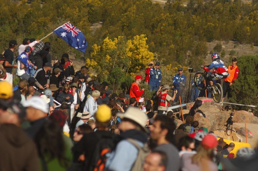 Mistrovství světa MTB DH 2009, Canberra - Filip Polc