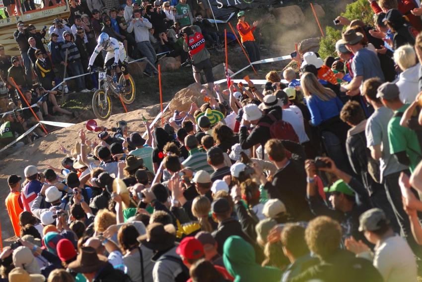 Mistrovství světa MTB DH 2009, Canberra - Chris Kovarik