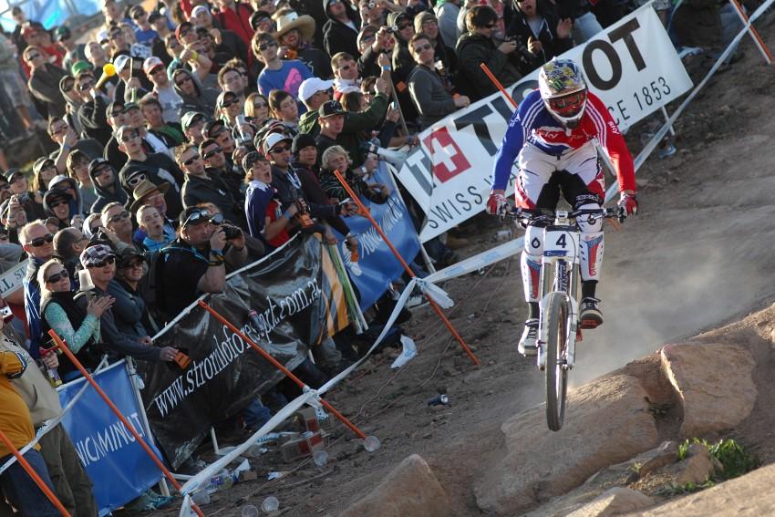 Mistrovství světa MTB DH 2009, Canberra - Steve Peat