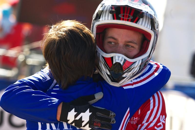 Mistrovství světa MTB DH 2009, Canberra /AUS/ - a jako druhá Tracy Moseley