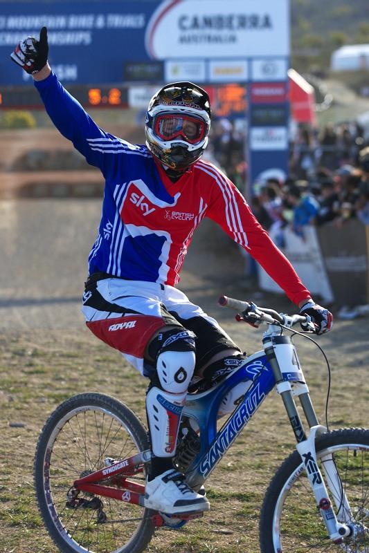 Mistrovství světa MTB DH 2009, Canberra /AUS/ - Steve Peat
