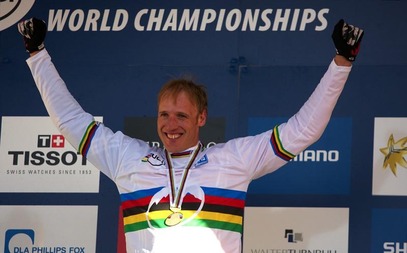 Mistrovství světa MTB DH 2009, Canberra /AUS/ - Steve Peat. Mistr světa DH 2009