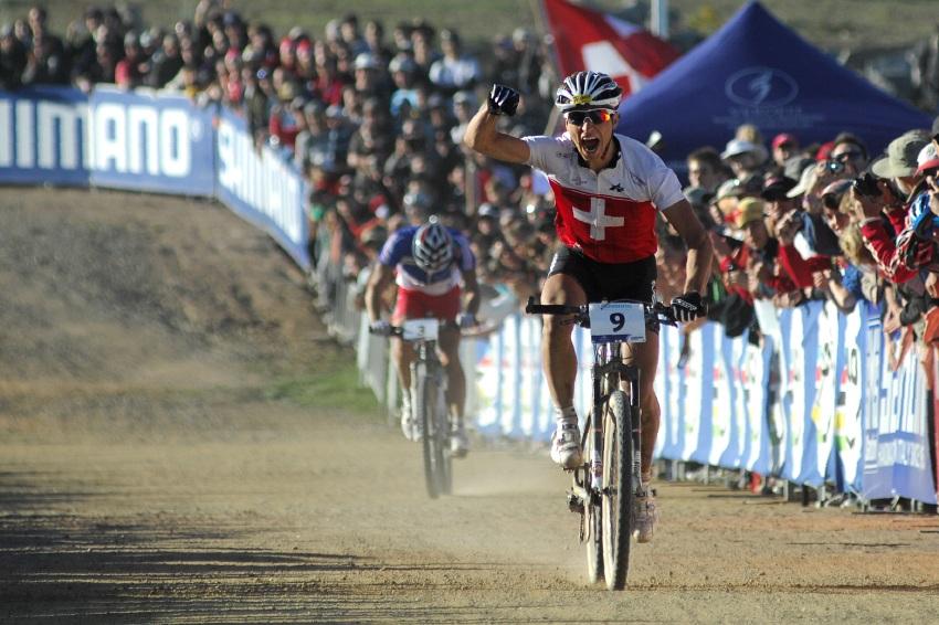 MS MTB XC Canberra 2009: Nino Schurter vítězí