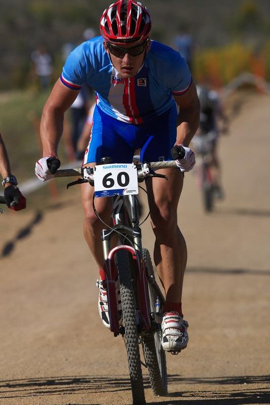Mistrovství světa MTB XCO 2009 - Canberra /AUS/ - Pavel Boudný
