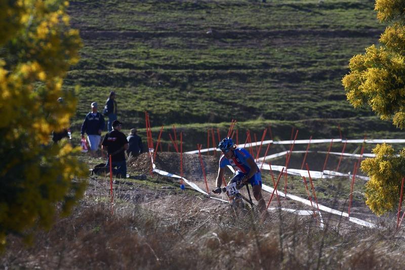 Mistrovství světa MTB XCO 2009 - Canberra /AUS/ - Milan Spěšný