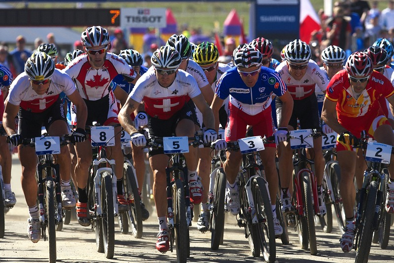Mistrovství světa MTB XCO 2009 - Canberra /AUS/ - To je asi panečku wattů, co?