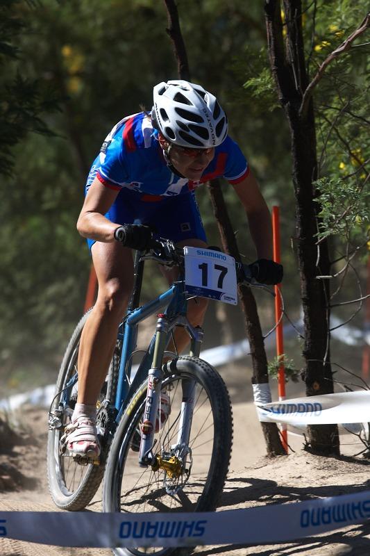 Mistrovství světa MTB XCO ženy 2009 - Canberra /AUS/ - Janka Števková