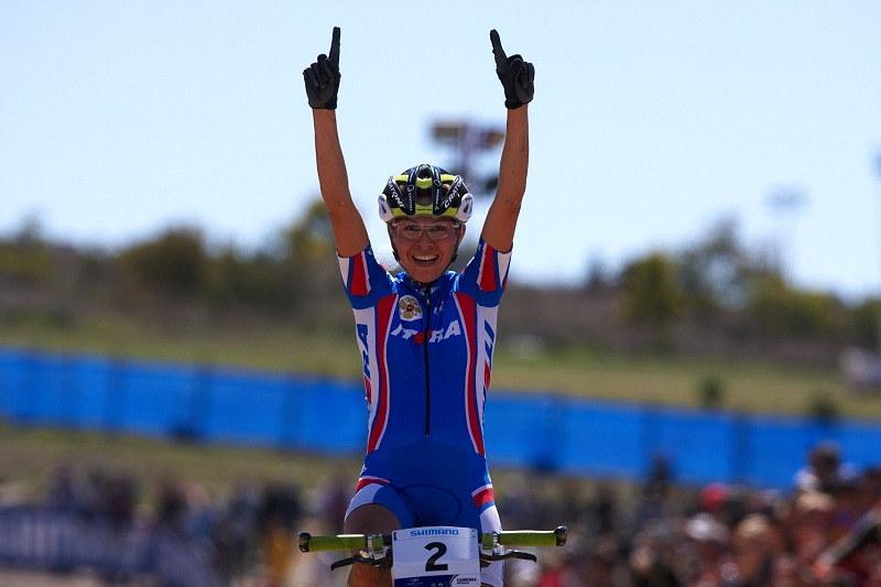 Mistrovství světa MTB XCO ženy 2009 - Canberra /AUS/ - Irina Kalentieva