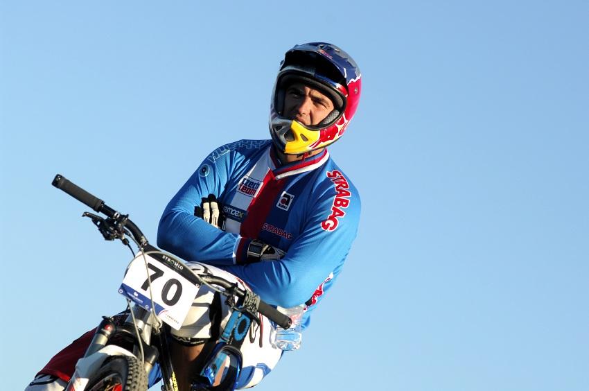 Mistrovství světa 4X 2009, Canberra (AUS): Michal Prokop sleduje s horečkou trénink