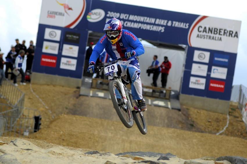 Mistrovství světa 4X 2009, Canberra (AUS): Michal Prokop v kvalifikační jízdě