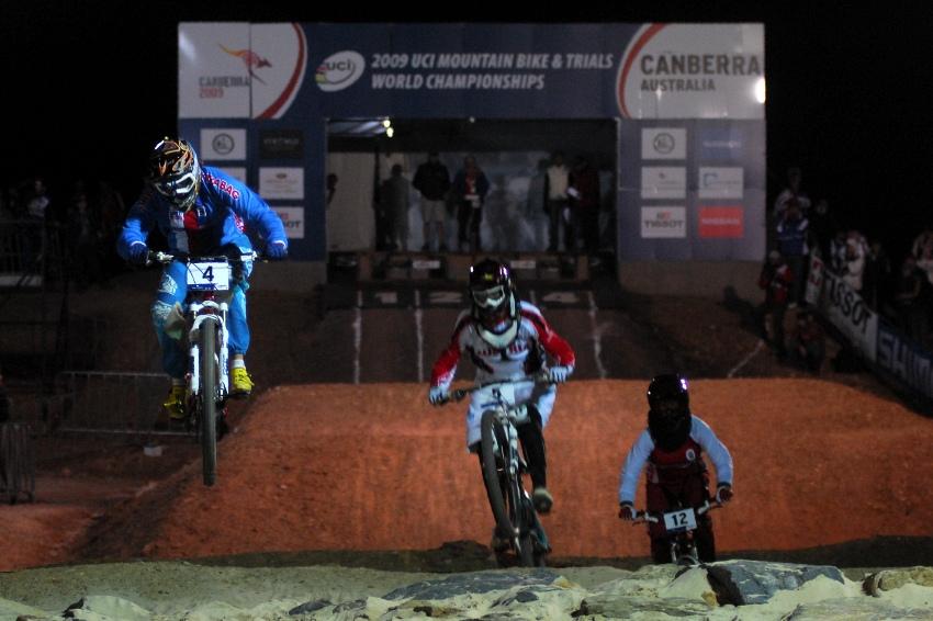 Mistrovství světa 4X 2009, Canberra (AUS): Romana Labounková měla velký náskok, ale nakonec chybovala a nepostoupila...
