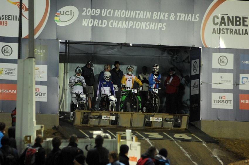 Mistrovství světa 4X 2009, Canberra (AUS): start finále