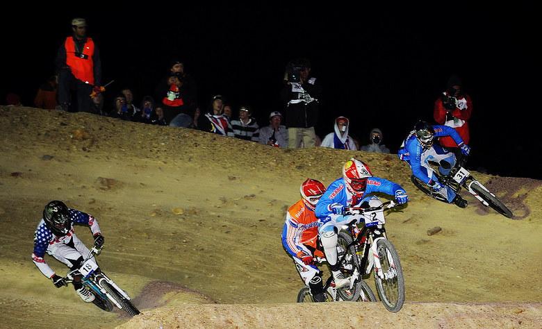 Mistrovství světa MTB 4X 2009 - Canberra /AUS/ - osmifinále s Tomem Slavíkem a Michalem Prokopem