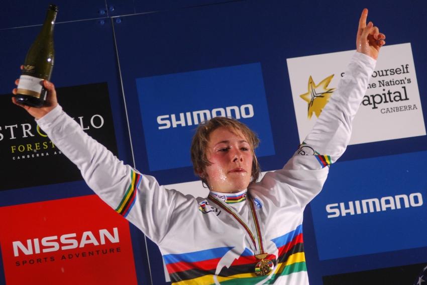 Mistrovství světa MTB 4X 2009 - Canberra /AUS/ - Caroline Buchanan