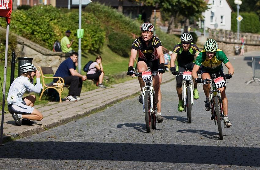 Scott Žacléřská 70 MTB 2009 - třetí nejlepší družstvo: Ski Paudera Fun Bike Kooperativa (Paudera, Novota, Nebesář)