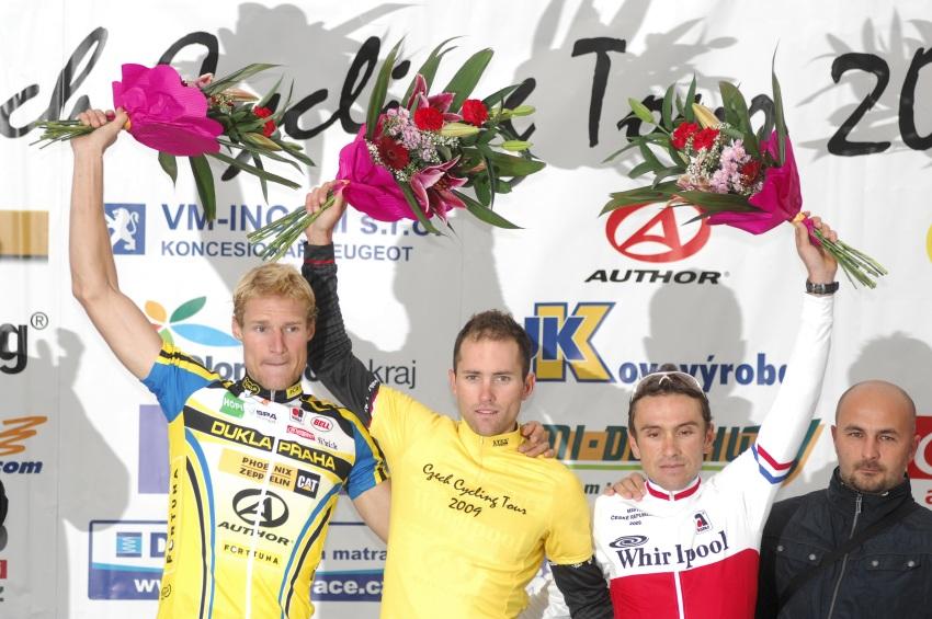 Staroměstské kritérium 2009, Praha: celkovým vítězem Czech Cycling Tour se stal Martin Hebík