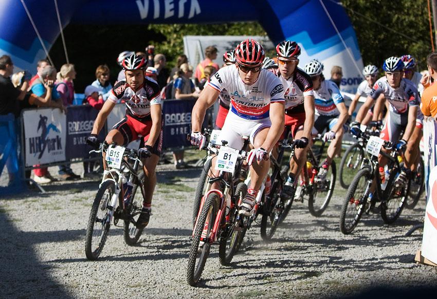 KPŽ Oderská mlýnice 2009 - právě byl odstartován poslední závod KPŽ 2009...
