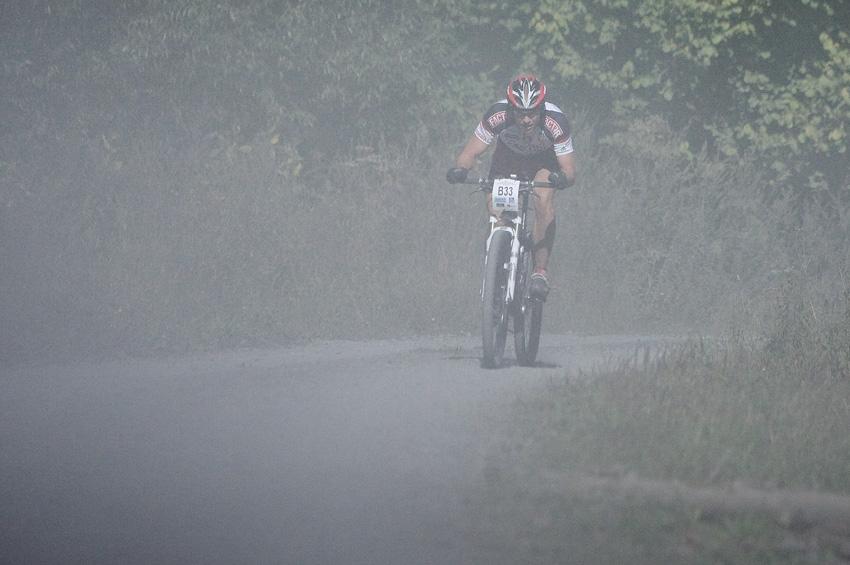 KPŽ Oderská mlýnice 2009 - v prachu za Yetim se vydal do sólového úniku Radek Bečka