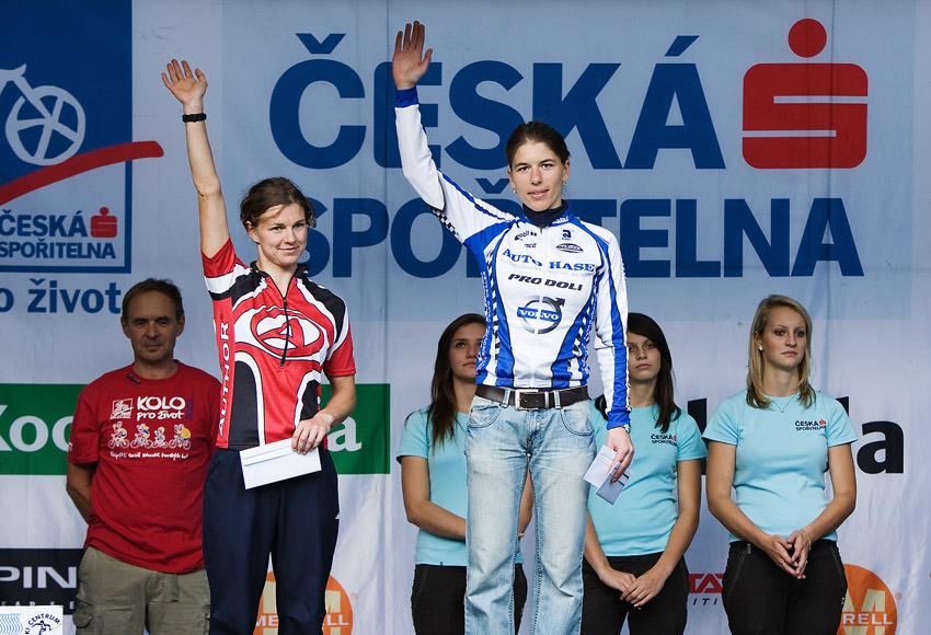 KPŽ Oderská mlýnice 2009 - 1. Petra Kottová 2. Jitka Pěničková