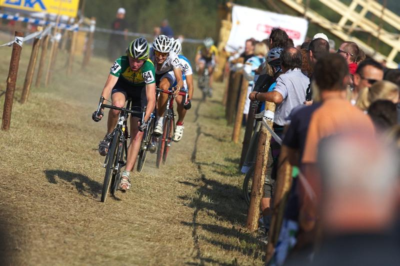 Cyklokros - Toi Toi Cup 2. z�vod, St��bro 26.9. 2009 - Jan Nesvadba