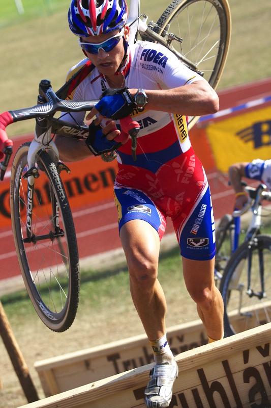 Cyklokros - Toi Toi Cup 2. závod, Stříbro 26.9. 2009 - Zdeněk Štybar