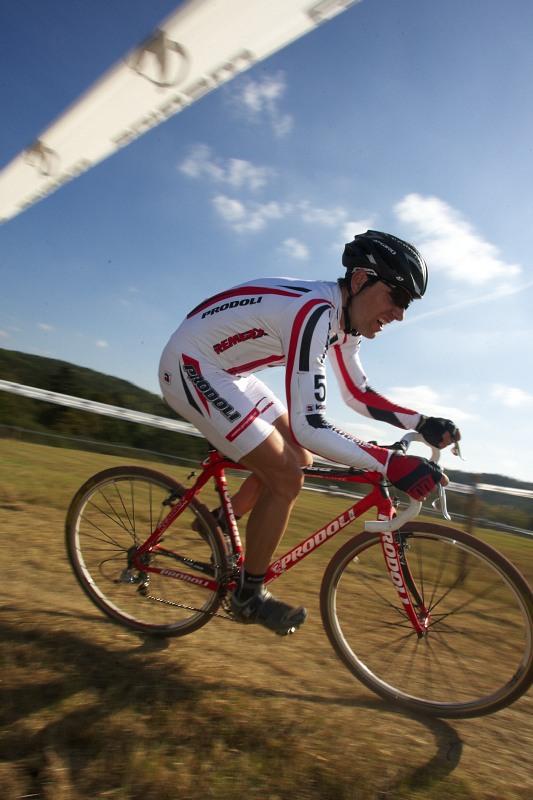 Cyklokros - Toi Toi Cup 2. závod, Stříbro 26.9. 2009 - Kamil Ausbuher