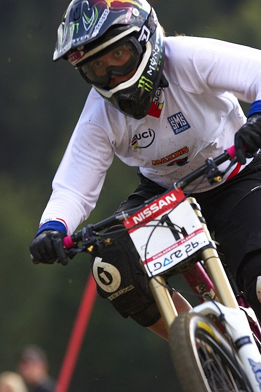 Nissan UCI MTB World Cup DH #8, Schladming 20.9. 2009 - Sabrina Jonier