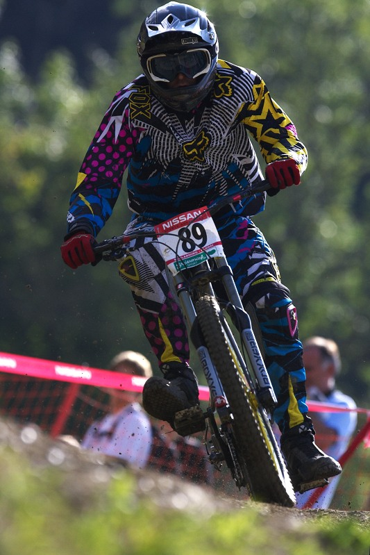 Nissan UCI MTB World Cup DH #8, Schladming 20.9. 2009 - Mat�j Charv�t