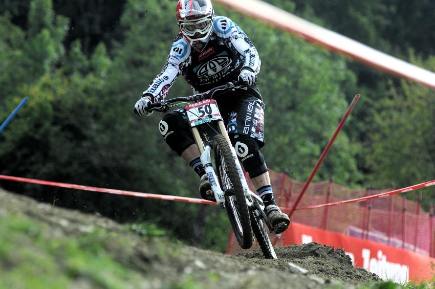 Světový pohár MTB Downhill - Schladming 2009: Dan Atherton