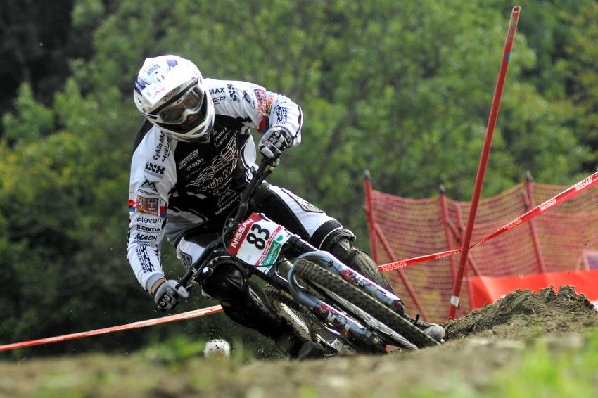 Sv�tov� poh�r MTB Downhill - Schladming 2009: Adam Vagner