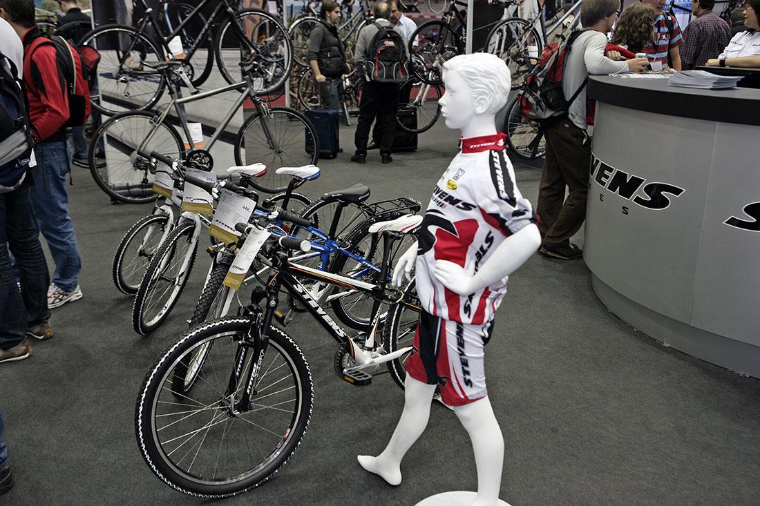 Stevens 2010 na Eurobike 2009